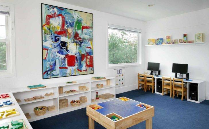 Kids Interior School Design Colorful Room Schools