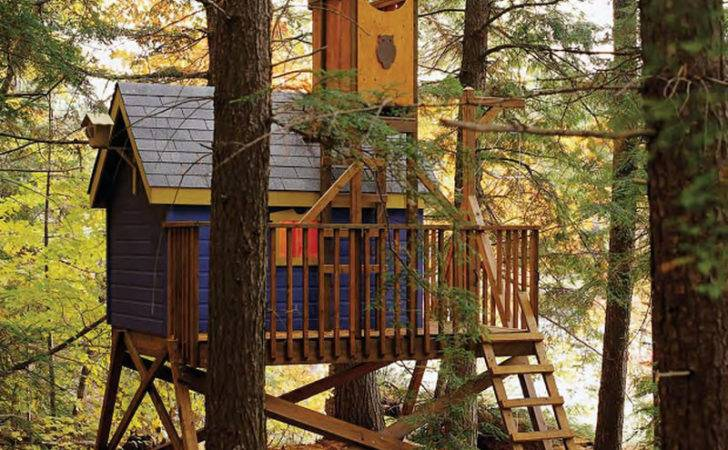 Kids Likewise Tree House Plans One Treehouse