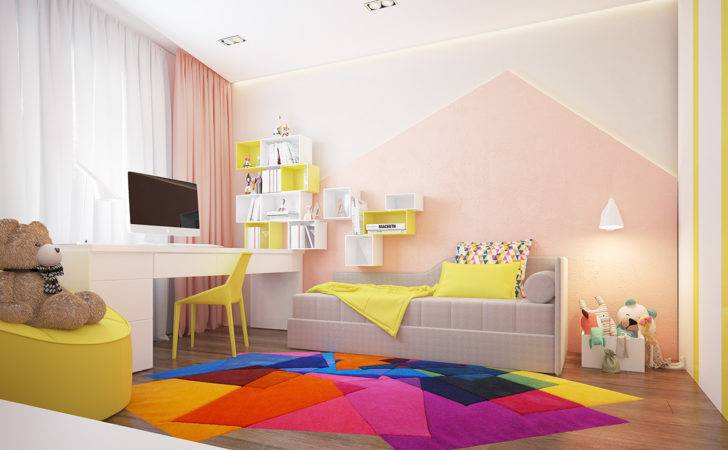 Kids Room Yellow Does Seep Outside But Even More Colors