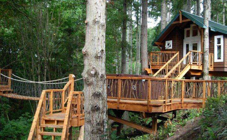 Kids Tree House Ideas Easy Etreehouse Plans