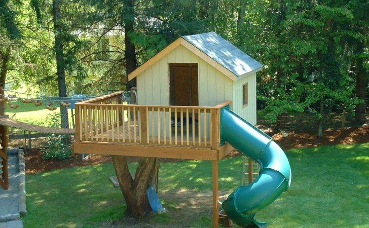 Kids Tree House Plans Designs Home Ideas