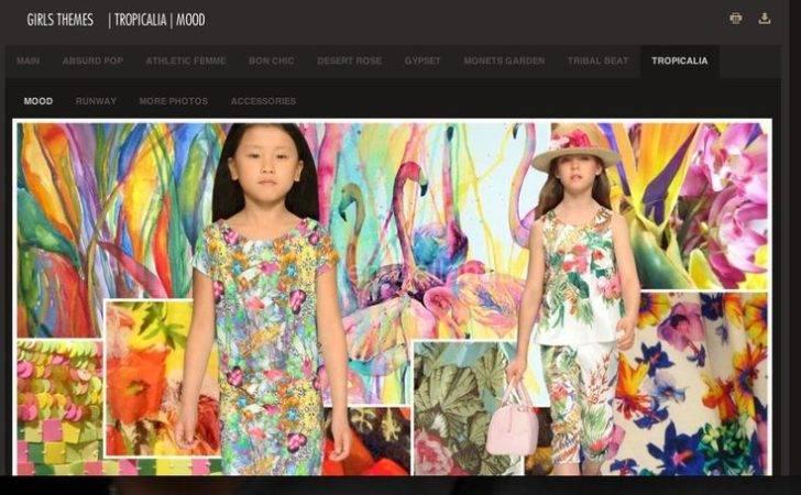 Kids Trend Spring Tropics Pinterest