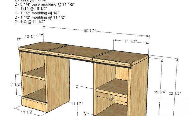 Kids Vanity Woodworking Plans Woodshop