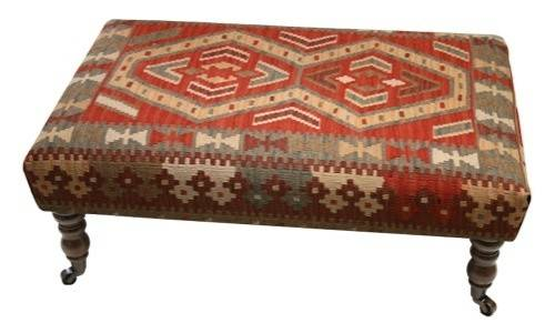 Kilim Coffee Table Style Stool Too Much Chair But