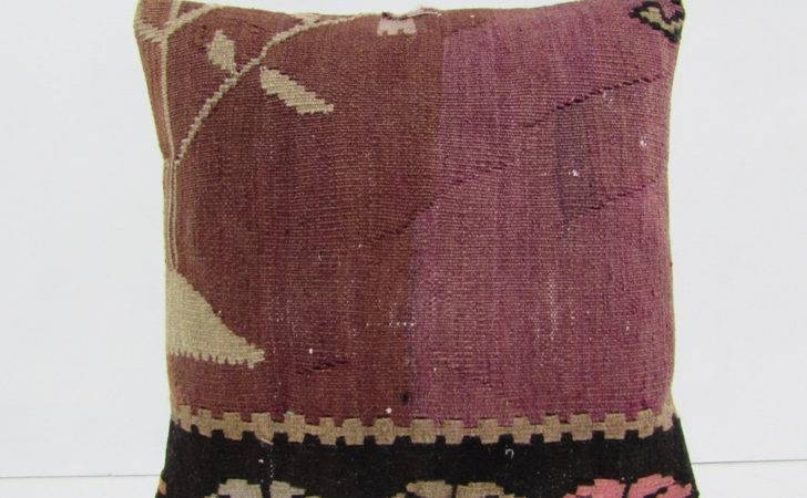 Kilim Pillow Moroccan Floor Cushions Decolickilimpillows