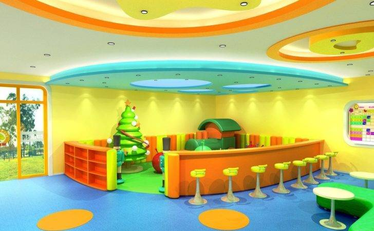 Kindergarten Design Playroom