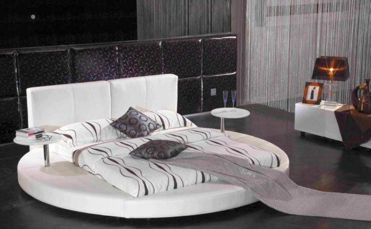 King Modern Similar Round Beds Below Can Put Your Bedroom
