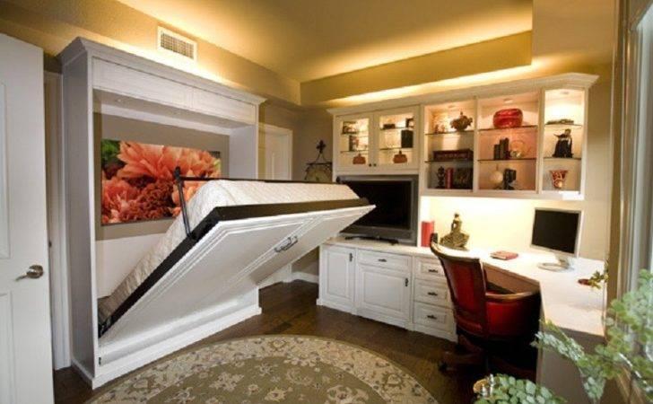 King Murphy Bed Desk Combo Mechanism Beds Home