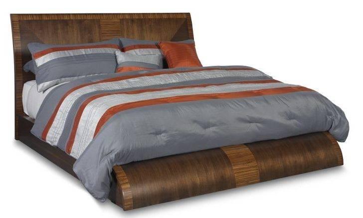 King Platform Bed Milan Bedroom Room Furniture Collection