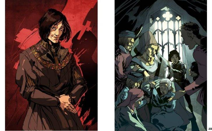 King Richard Iii Life Death Told Through Graphic Novel Style Art