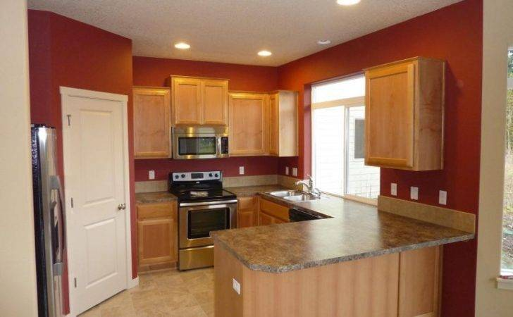 Kitchen Accent Wall Painting Color Modern