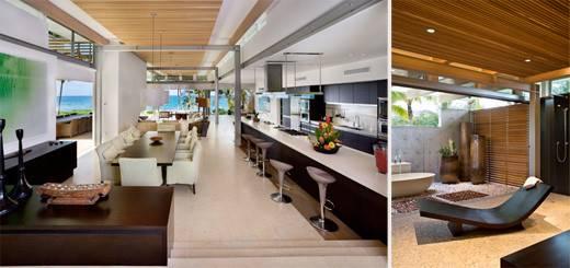 Kitchen Bathroom Contemporary Tropical Home Design