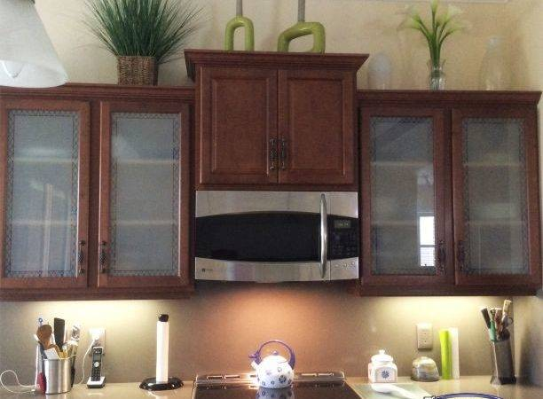 Kitchen Cabinet Etched Glass Doors Frosted