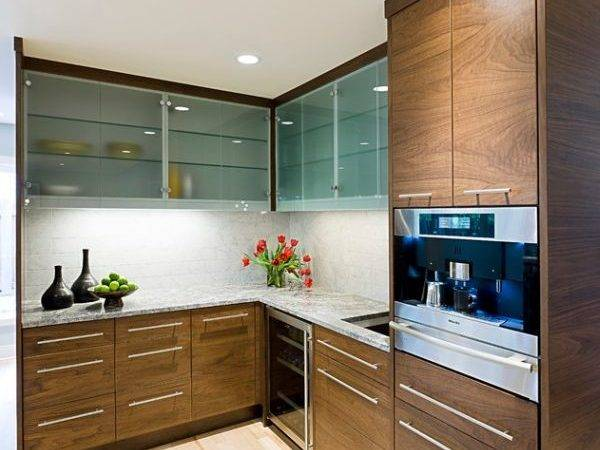 Kitchen Cabinet Ideas Glass Doors Sparkling Modern Home