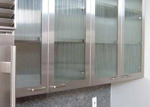 Kitchen Cabinets Doors Glass Every Types Stainless Steel