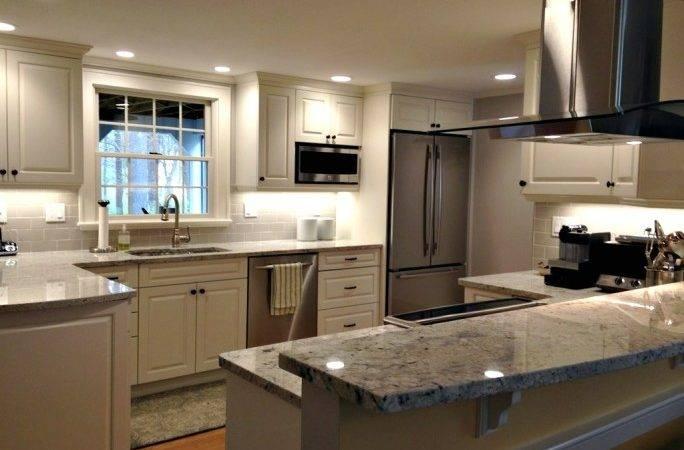 Kitchen Cabinets Remodel Lighting Island Hood