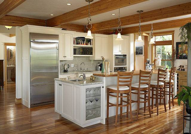 Kitchen Cape Cod Style Lindal Home Flickr Sharing