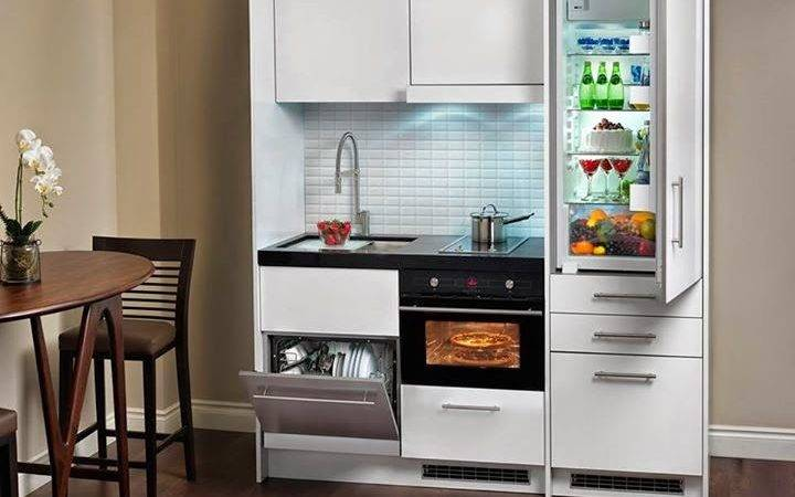 Kitchen Compact Units Cabinet Storage
