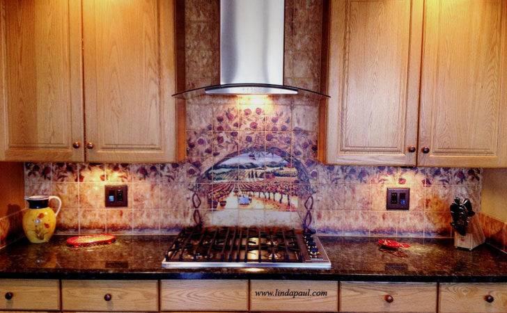 Kitchen Decorating Ideas Custom Backsplash