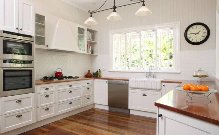 Kitchen Design Brisbane Timber Benchtops Shaker Style