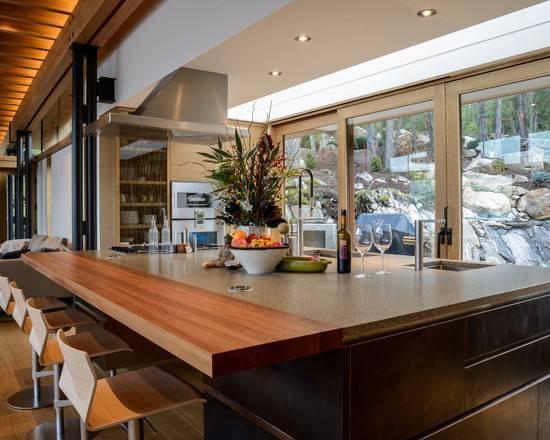 Kitchen Design Stylish Wooden Bar Stools Modern