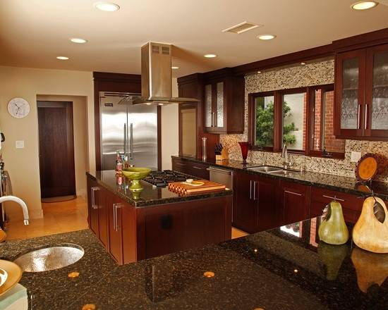 Kitchen Dining Area Tropical Kitchens Designs