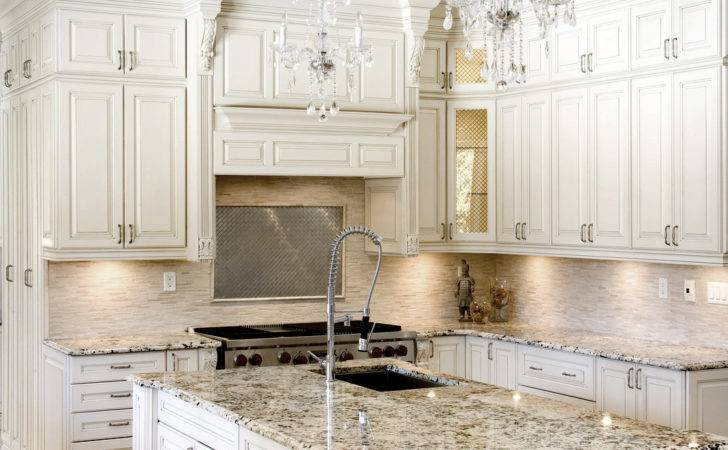 Kitchen Fancy Italian Room Style Feat Antique White