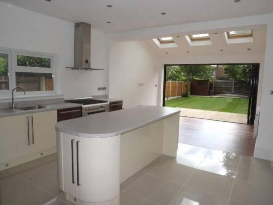 Kitchen Fold Doors Skylight House Extension Inspiration