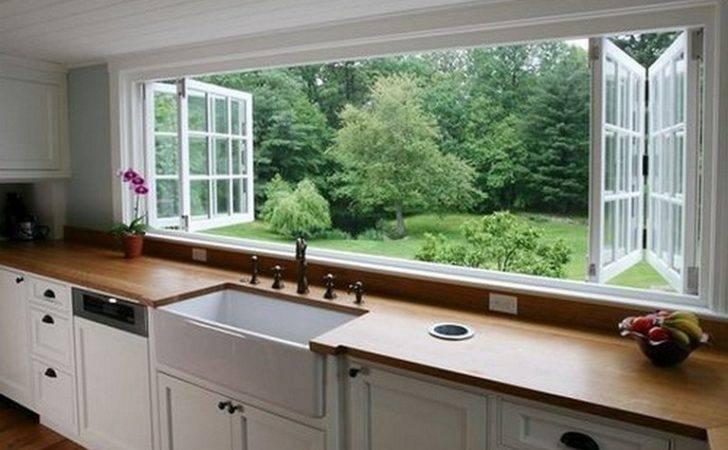 Kitchen Garden Window Ideas Sink