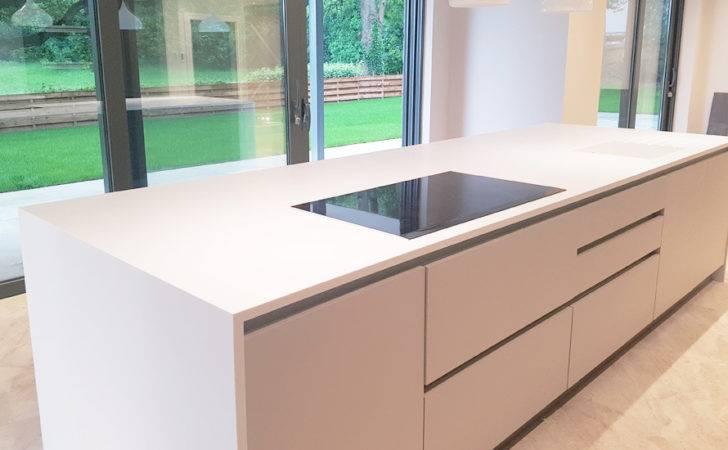 Kitchen Island Worktop Installation Milton Keynes