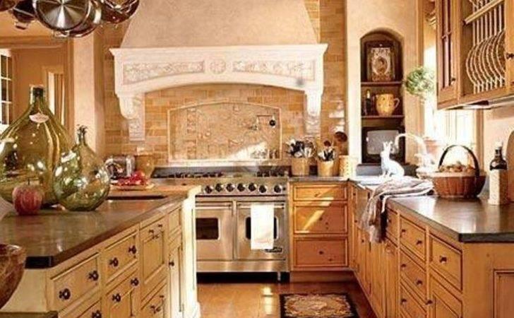 Kitchen Italian Style Home Decor Also