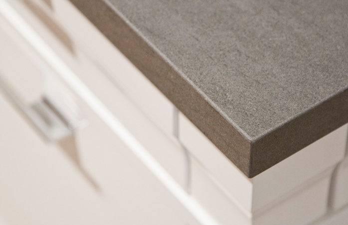 Kitchen Matrix Neolith Ultra Compact Surfaces Grey Modern