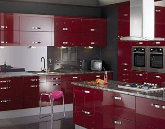 Kitchen Modular Open Popular Colors Scheme Ideas