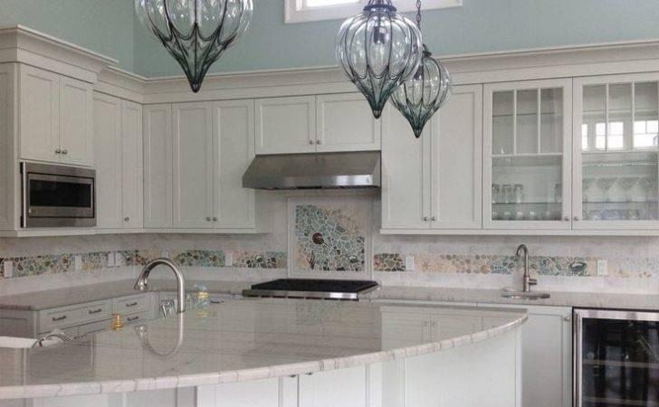 Kitchen Mosaic Backsplash Tile Beach House