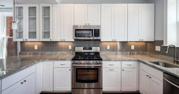 Kitchen Pinterest Slate Appliances White Kitchens