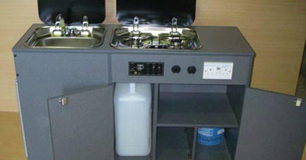Kitchen Pod Open Units Camper Van Pinterest Stove
