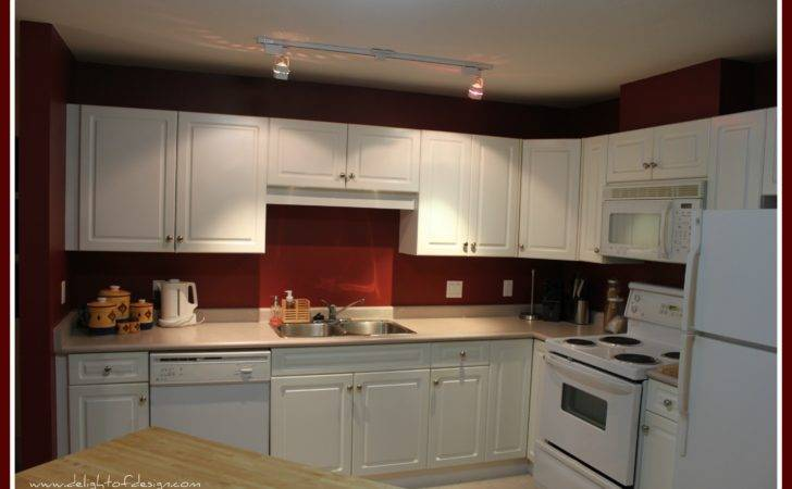Kitchen Red Walls Rooms Kitchens Ask Looks