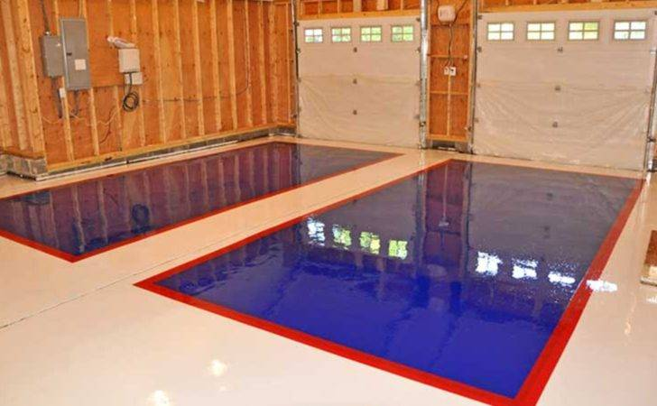 Kitchen Residential Epoxy Flooring Diy Industrial Large Galley