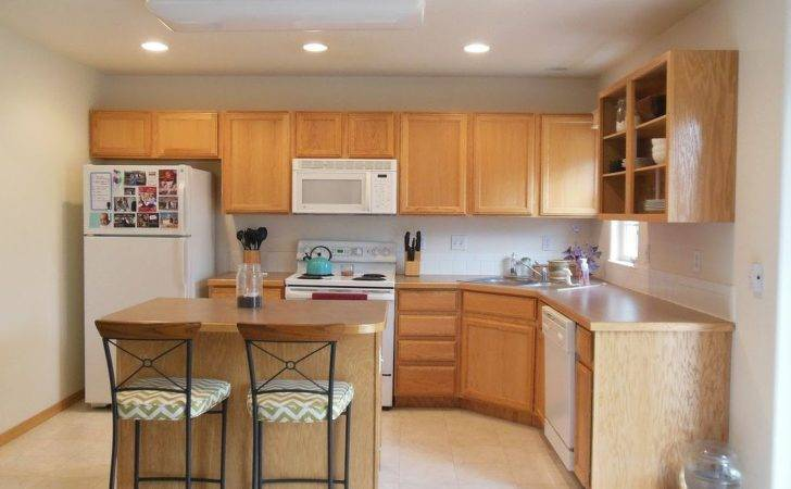 Kitchen Reveal Dark Cabinets Light Counters Hometalk