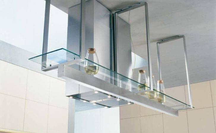 Kitchen Shelf Glass Stainless Steel Hangers