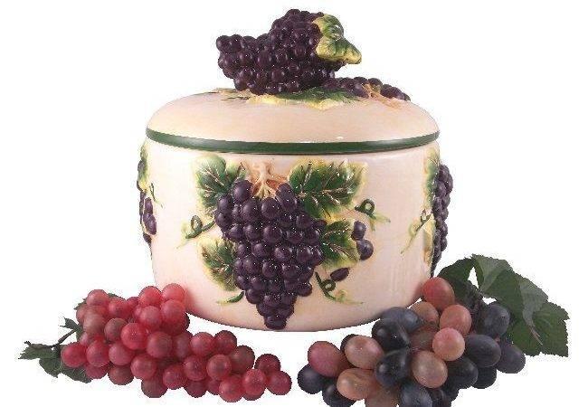Kitchen Themes Themed Decor Plaque Vineyard Fruit