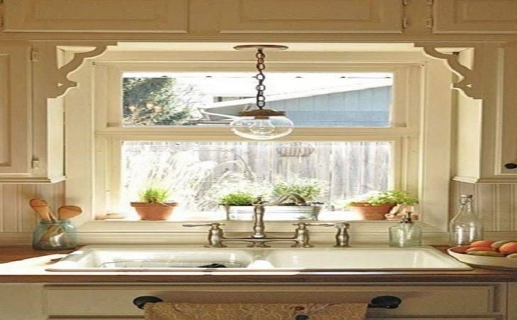 Kitchen Window Above Sink Light Fixture Ideas