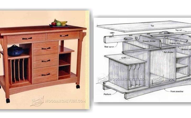 Kitchen Work Station Plans Woodarchivist