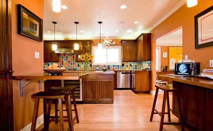 Kitchens Colour Orange Kitchen Decor Ideas Design Best