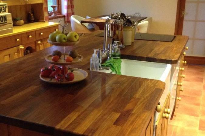 Kitchens Iroko Worktops