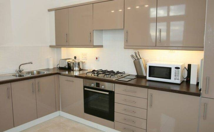 Kitchens Modern Beige Kitchen Cabinets