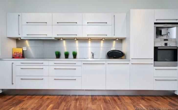 Kitchens Modern White Kitchen Cabinets