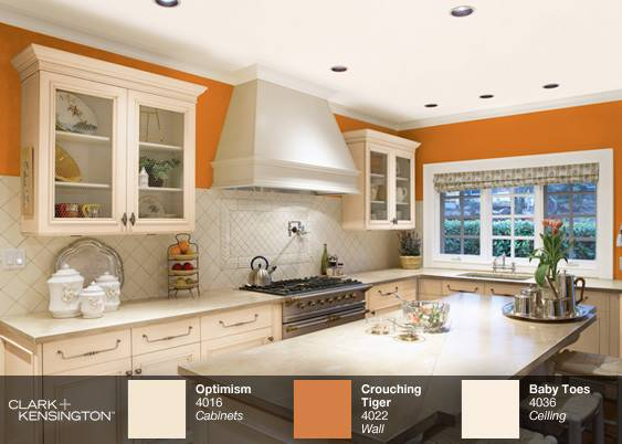 Kitchens Painted Orange Related Keywords Suggestions
