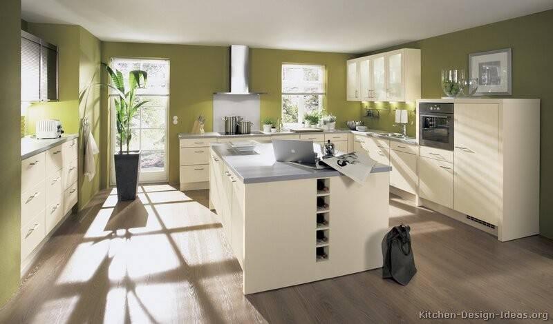 Kitchens White Cabinets Green Walls Galleryhip