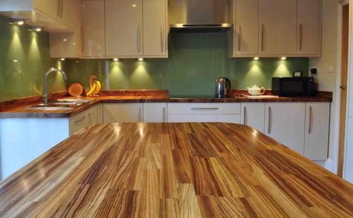 Kitchens Zebrano Worktops